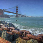 Golden Gate Bridge Art Print by Everet Regal