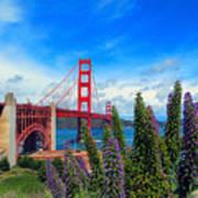 Golden Gate Bridge Five Art Print