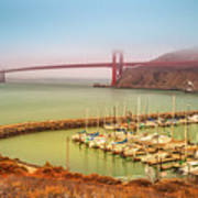Golden Gate Bridge Sausalito Art Print