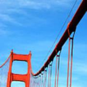 Golden Gate II Art Print