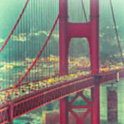 Golden Gate Portrait Art Print