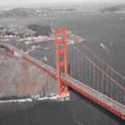 Golden Gate The Color Of The Bridge Art Print