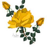 Golden Glory Art Print