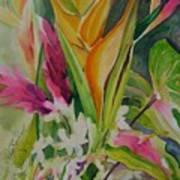Golden Haleconia Art Print