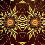 Golden Infinity Art Print