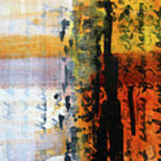 Golden Marks 4 Art Print