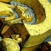 Golden Musselburgh IIi Art Print