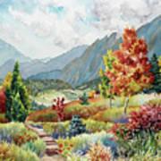 Golden Trail Art Print