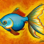 Goldfish Art Print by Sabina Espinet