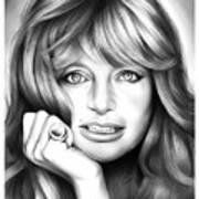 Goldie Hawn Art Print