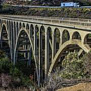 Goleta Hwy 101 Bridge Art Print