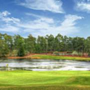 Golf At Pinehurst  Art Print