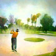 Golf At The Blue Monster In Doral Florida 02 Art Print
