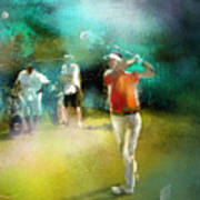 Golf In Club Fontana Austria 03 Art Print