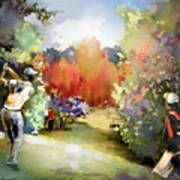 Golf In Gut Laerchehof Germany 02 Art Print