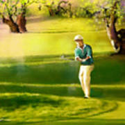 Golf In Spain Castello Masters  02 Art Print