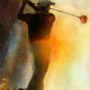 Golf In The Portugal Masters 01  Art Print