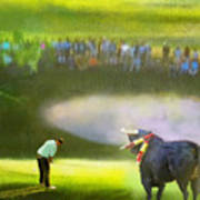 Golf Madrid Masters 03 Art Print