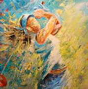 Golf Passion Art Print