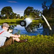 Golf Problem Art Print