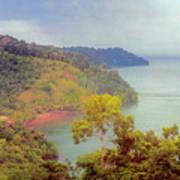 Golfo Dulce Costa Rica Art Print