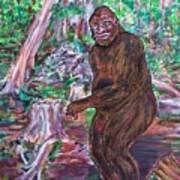 Goliath - The Bigfoot Of Ash Swamp Road Art Print