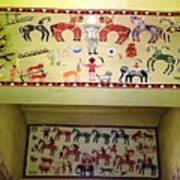 Gond Tribal Art Art Print