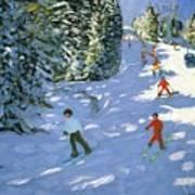 Gondola Austrian Alps Art Print