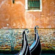 Gondola In Venice 2 Art Print