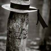 Gondolier Hat Print by Dave Bowman