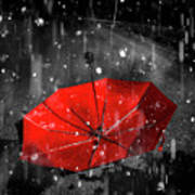 Gone With The Rain Art Print