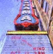 Gone With The Wind at the Alabama Art Print