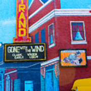 Gone With The Wind At The Strand Art Print