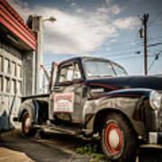 Goober's Tow Truck Art Print