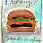 Good Burger Art Print