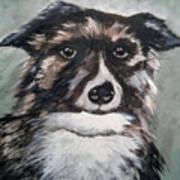 Good Dog By Christine Lites Art Print