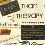 Good Friends Art Print