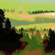 Good Morning In Spokane Art Print
