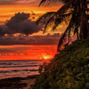Good Night Hawaii Art Print