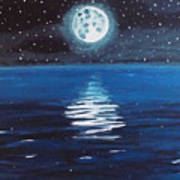 Good Night Moon 1 Art Print