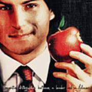 Goodbye Steve Jobs Art Print