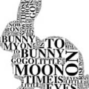 Goodnight My Bunny Art Print