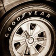 Goodyear Tire -0250s Art Print