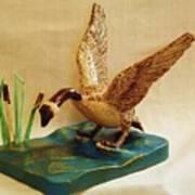 Goose Landing Art Print