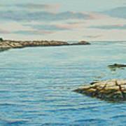 Goose Neck Cove Art Print