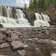 Gooseberry Middle Falls 24 Art Print