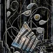 Gordian Harp Art Print