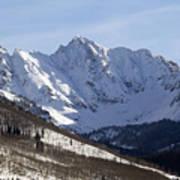 Gore Mountain Range Colorado Art Print by Brendan Reals