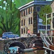 Gore Street Bridge Art Print