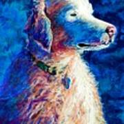 Gorge Dog Art Print